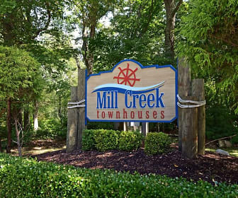 Community Signage, Mill Creek Townhouses
