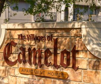 Community Signage, Camelot Village Apartments