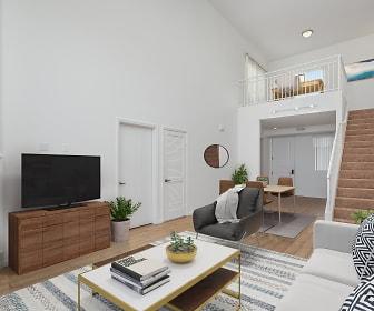 Living Room, Le Blanc