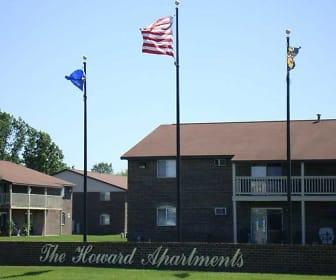 Community Signage, Howard Apartments