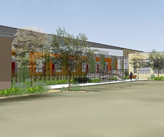 Rendering, South Side Living and Maker Spaces
