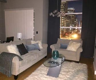 Living Room, 505 East 6th Street  #702