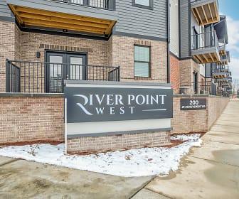 River Point West, Elkhart Central High School, Elkhart, IN