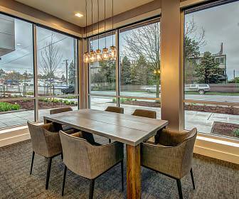 Dining Room, Upton Flats