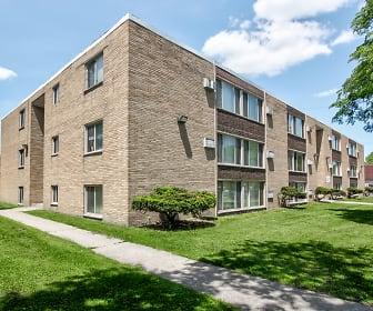 Belmont Manor Apartments, Osborn High School, Detroit, MI