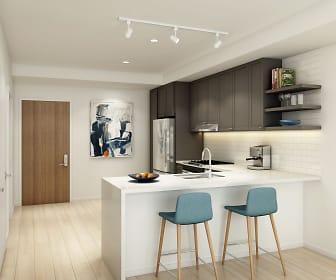 Kitchen, Jones Berkeley Apartments
