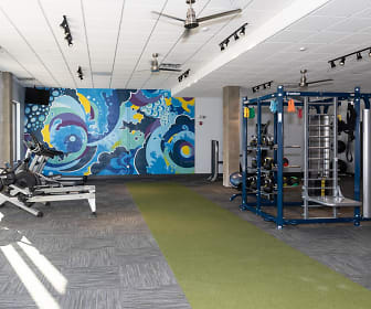 Fitness Weight Room, 3800 Acqua Apartments