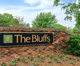 Community Signage, The Bluffs