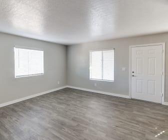 Living Room, Montecito Apartments