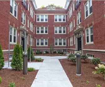 Courtyard, Conway Court