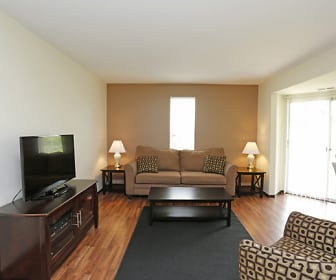 Living Room, Haymeadow Apartments
