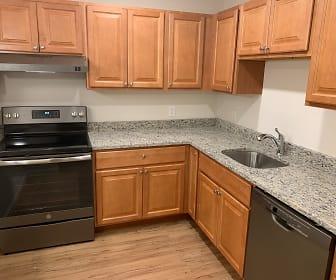 Kitchen, Wayside Apartments