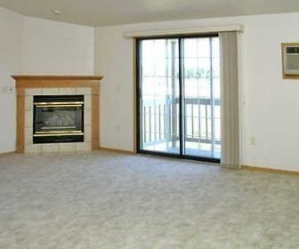 Living Room, Deerbrook Apartments