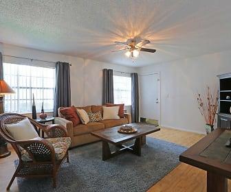 Living Room, La Aloma Apartments