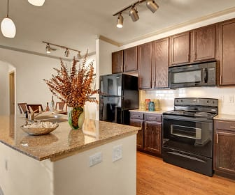 Large Kitchen Island with Granite Countertops, Liberty Pointe Apartments