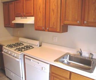 Kitchen, Linden House Apartments