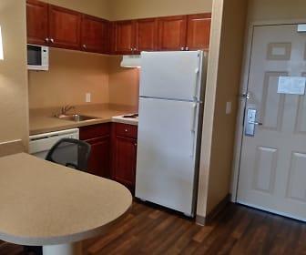 Kitchen, Furnished Studio - Atlanta - Alpharetta - Northpoint - West
