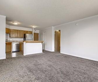 Living Room, 1301 Speer Blvd #308