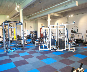 Fitness Weight Room, Mayfair Lofts