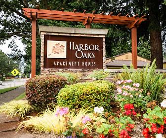 Community Signage, Harbor Oaks