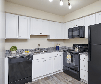 Kitchen, Village Square Apartments