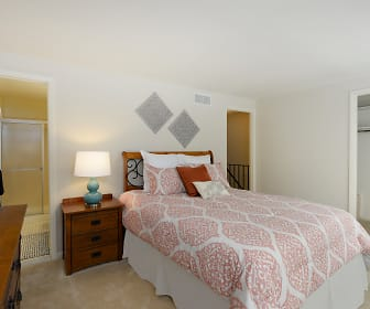 Bedroom, Walnut Grove Townhomes