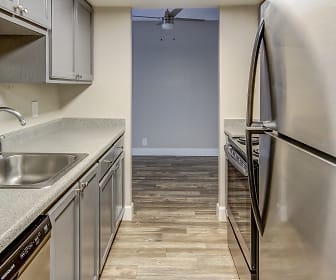Kitchen, Uptown Square Apartments