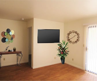 Living Room, Willow Ridge Apartments