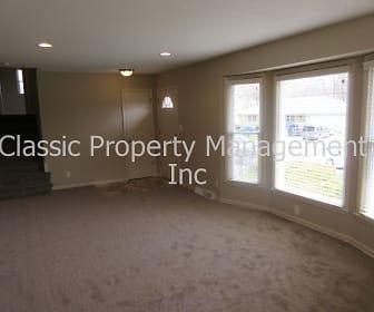 Formal Living room, 7300 N Woodland Ave