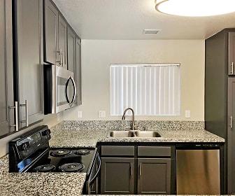 Kitchen, Trolley Palm Apartments