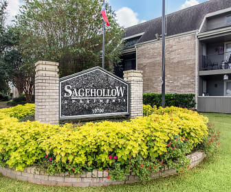 Community Signage, Sage Hollow Apartments