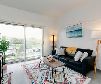 Living Room, The Loop Isla Vista - PER BED LEASE