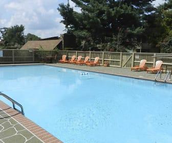 Pool, City Side Flats