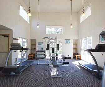 Fitness Weight Room, Brookhollow Apartments