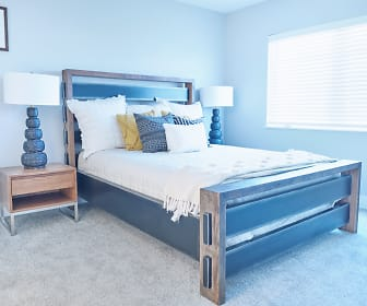 Bedroom, Michigan Meadows Townhomes