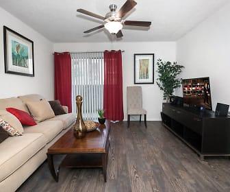 Living Room, Sandstone Apartments