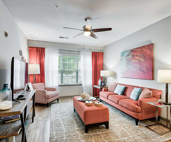 Living Room, The Grove At Kernersville