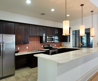 Demonstration kitchen, DeLayne at Twin Creeks