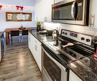 Kitchen, Shakespeare Apartments