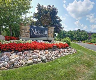 Community Signage, Nob Hill Apartments