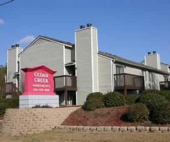 Community Signage, Cedar Creek Apartments