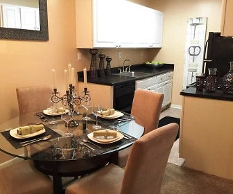 Dining Room, Forest Cove Apartments
