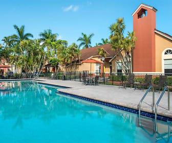 Pool, The Landings at Pembroke Lakes Apartments