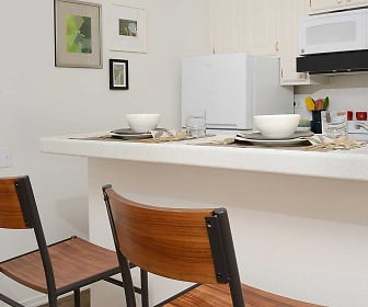 Kitchen and dining, eaves Woodland Hills