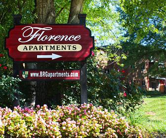 Community Signage, Florence Apartments