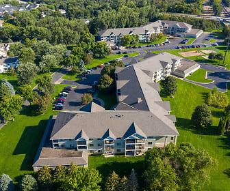aerial view, Wellington Ridge Apartments
