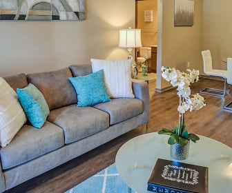 Living Room, Trails at Flat Rock