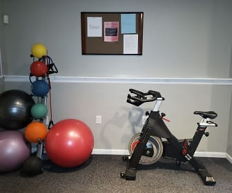 Fitness Weight Room, Lakeview Court Apartments