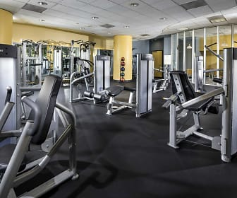 Fitness Weight Room, Barrington Plaza