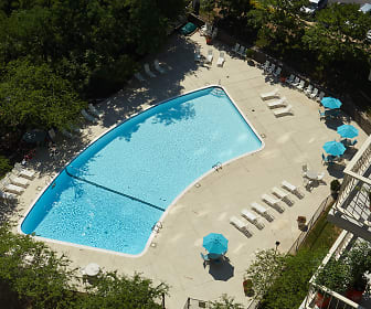 Aerial View of the Swimming Pool, The Aspen